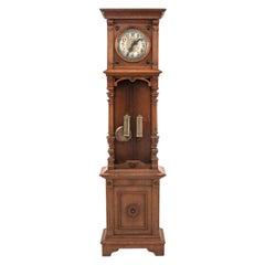 Antique Gustav Becker Standing Clock, Germany, circa 1890