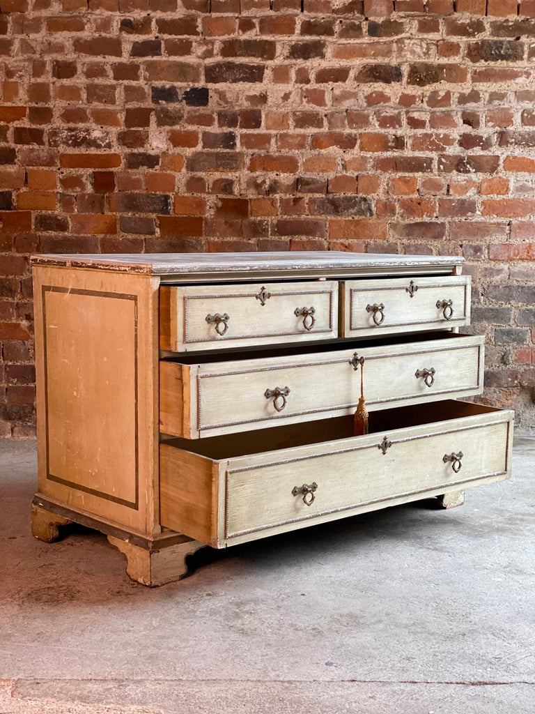 Antique Gustavian Chest of Drawers Commode, Swedish, 19th Century, circa 1870 For Sale 3