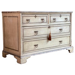 Antique Gustavian Chest of Drawers Commode, Swedish, 19th Century, circa 1870