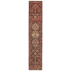 Antique Hamadan Long Runner
