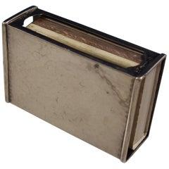 Antique Hammered by Shreve Sterling Silver Matchbox #39