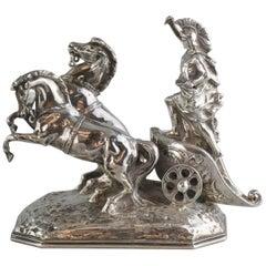 Antique Hanau Silver Figurine, circa 1850s