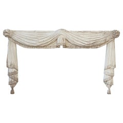 Antique Hand Carved Architectural Header or Canopy