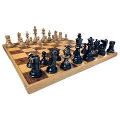 Antique Hand Carved Chess Set