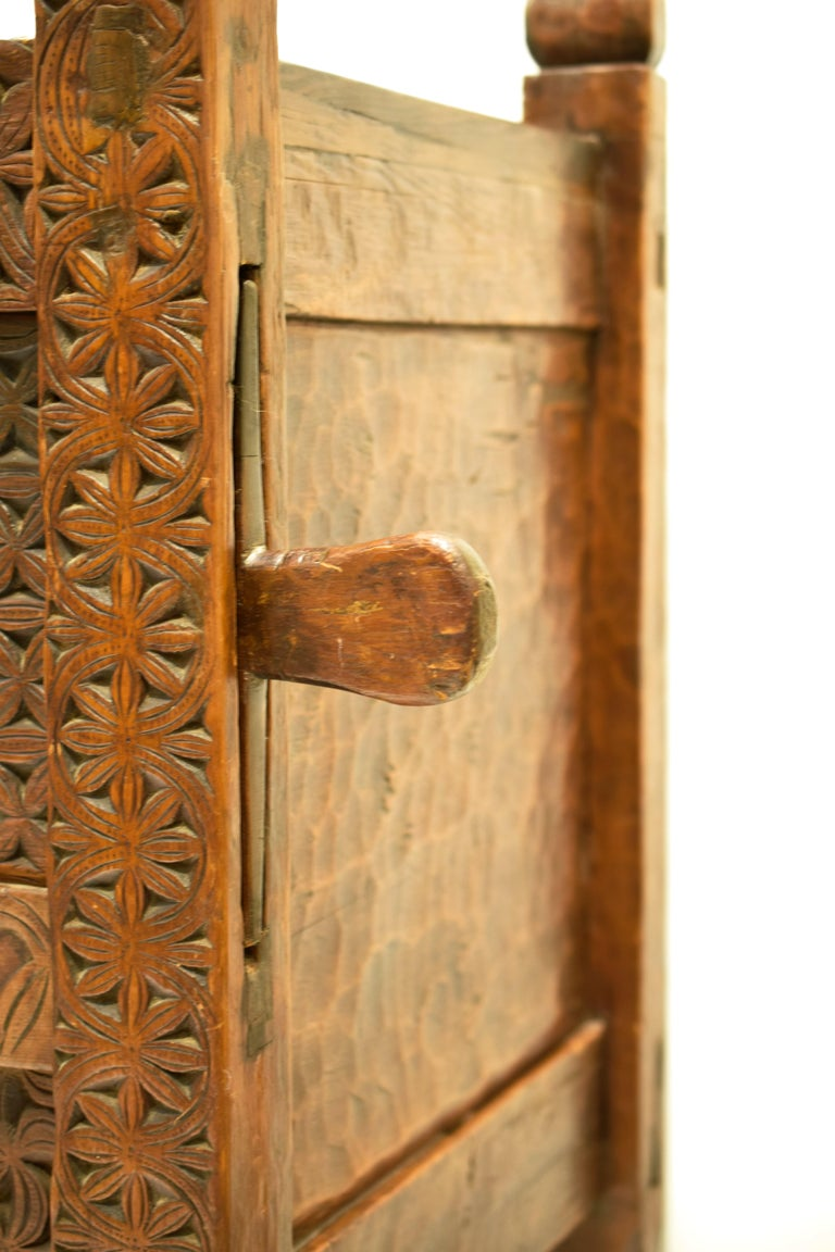 Antique Hand-Carved Swat Chest from Pakistan For Sale 5