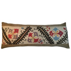 Antique Hand Embroidery Suzani Pillow