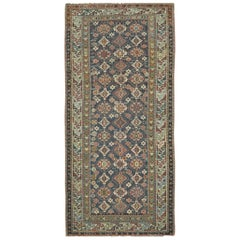 Antique Hand Knotted Gallery Size Caucasian Rug