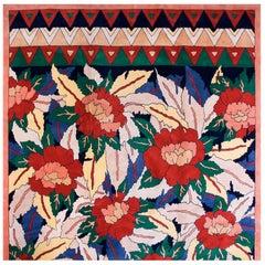 Antique Hand Tufted Rug