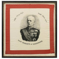 Antique Handkerchief of Lord Roberts of Kandahar