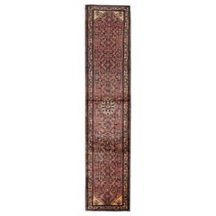 Antique Handmade Carpet Runner Oriental Rug Traditional Wool Runner