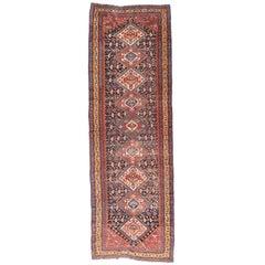 Antique Hand Made Qashqai Persian Rug