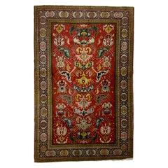 Antique Handmade Kazak Persian Rug