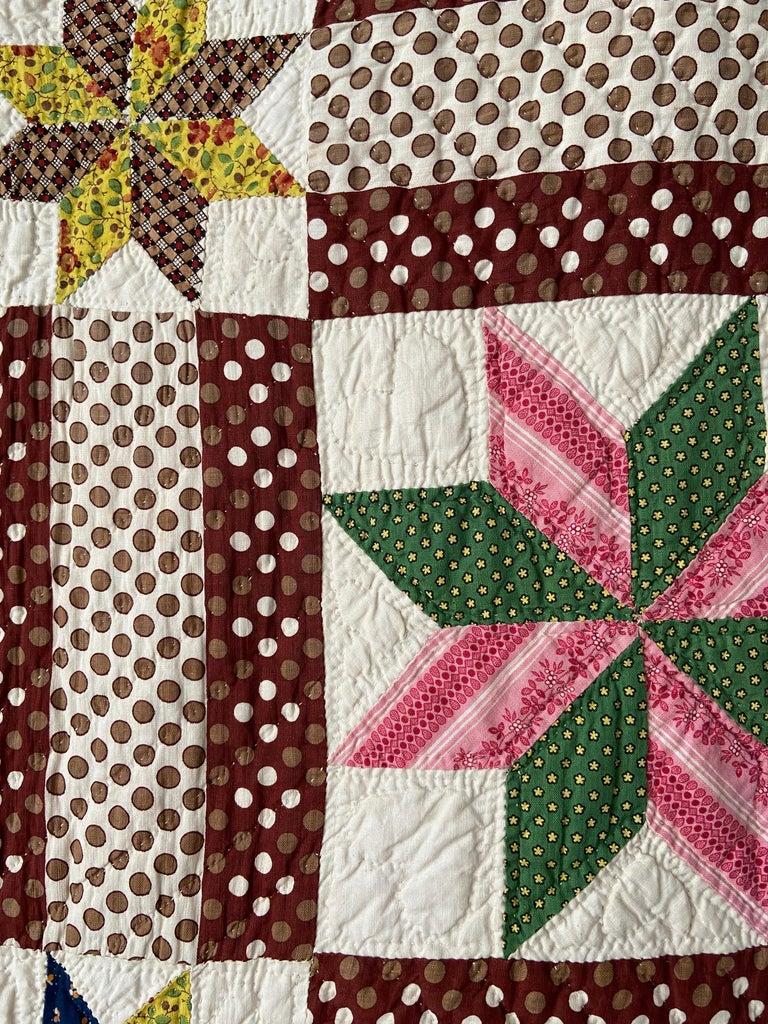 Antique Handmade Patchwork Quilt