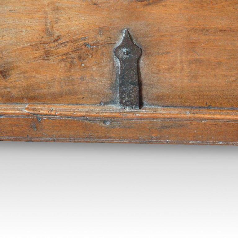 Antique Hardwood Merchant Chest For Sale 6