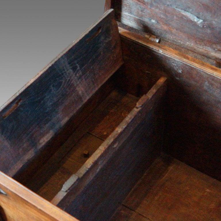 Antique Hardwood Merchant Chest For Sale 1