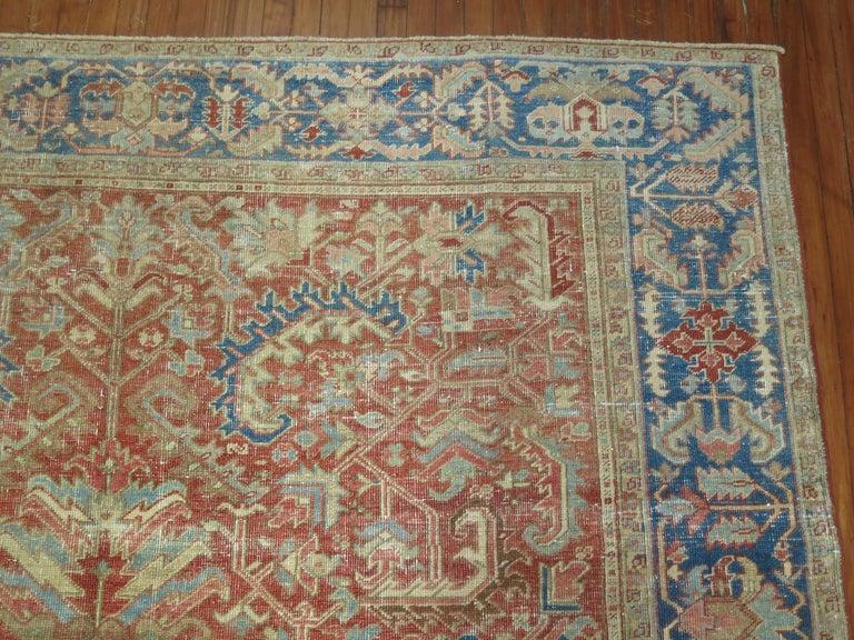 Antique Heriz Rug For Sale 1