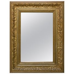 Antique Historicizing Mirror from the End of the 19th Century