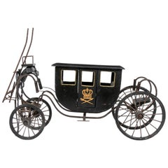 Antique Horse-Drawn Coach Model or Salesman's Sample