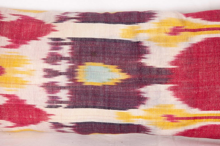 Antique Ikat Lumbar Pillow Cases Made from a 19th Century Ikat For Sale 5
