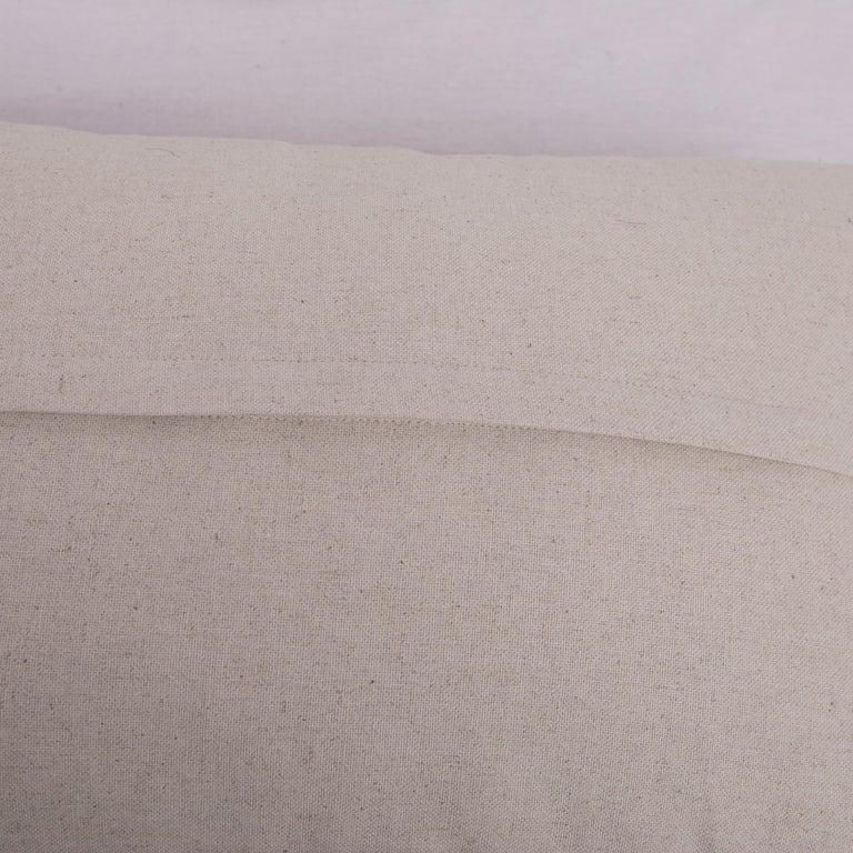 Cotton Antique Ikat Pillowcase /Cushion Cover from Uzbekistan, 1900s For Sale