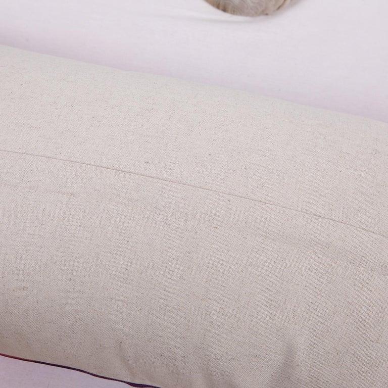 Cotton Antique Ikat Pillowcase /Cushion Cover from Uzbekistan, 1910s For Sale
