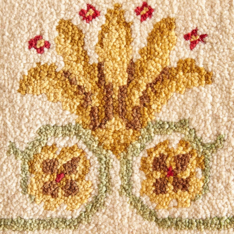Wool Antique Imperio Rug, circa 1970 For Sale