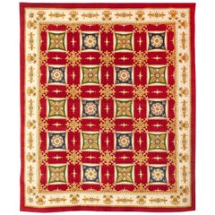 Antique Imperio Rug, circa 1970