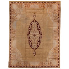 Antique Indian Agra Carpet, circa 1900s