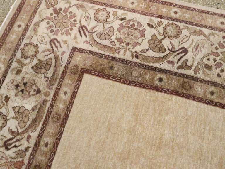 Antique Indian Agra Carpet For Sale 1