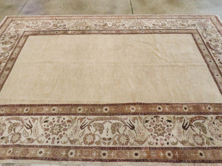Antique Indian Agra Carpet For Sale 2