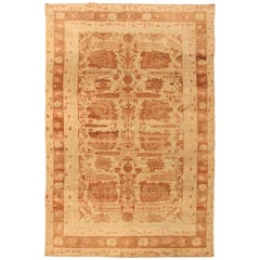 Antique Indian Agra Carpet. Size: 5 ft 10 in x 8 ft 7 in (1.78 m x 2.62 m)