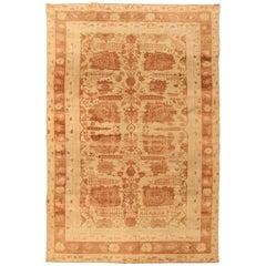 Antique Indian Agra Carpet