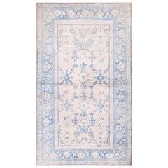 Antique Indian Agra Cotton Rug