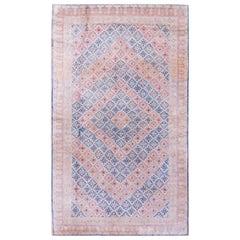 Antique Indian Agra, Cotton Rug