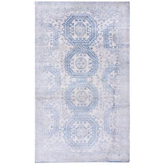 Antique Indian Agra Cotton Rug