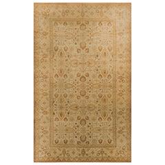 Antique Indian Agra Rug Carpet, circa 1900