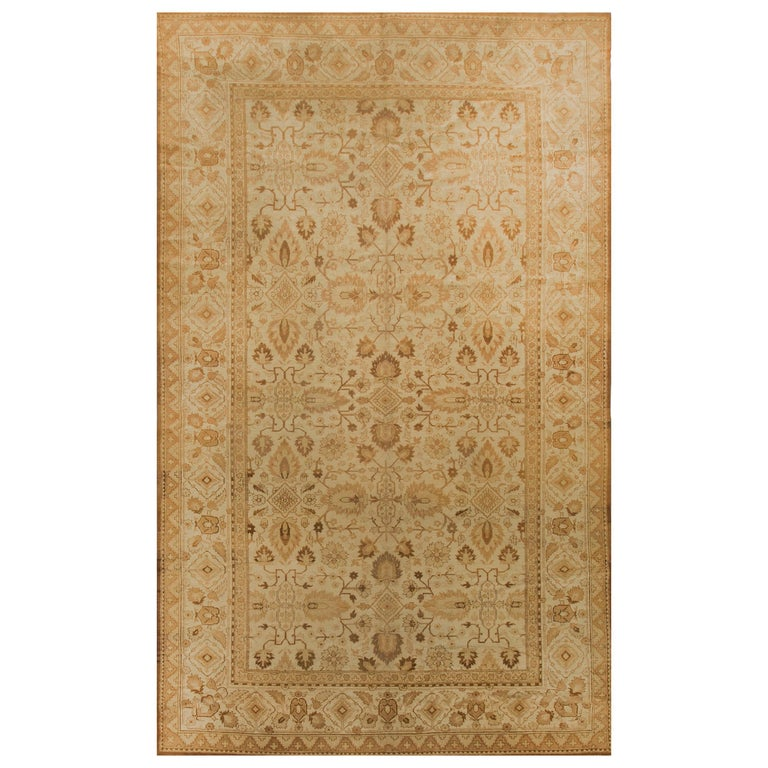 Antique Indian Agra Rug For Sale At 1stdibs: Antique Indian Agra Rug Carpet, Circa 1900 For Sale At 1stdibs