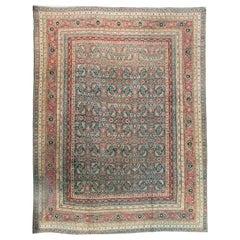Antique Indian Agra Rug, circa 1890