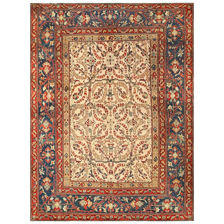 Antique Indian Agra Rug For Sale At 1stdibs