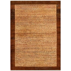 Antique Indian Agra Rug. Size: 4 ft x 5 ft 8 in (1.22 m x 1.73 m)
