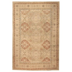 Antique Indian Amritsar Carpet. Size: 11 ft 2 in x 16 ft 7 in (3.4 m x 5.05 m)