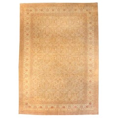 Antique Indian Amritsar Carpet 'Size Adjusted'