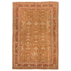 Antique Indian Amritsar Handmade Wool Rug