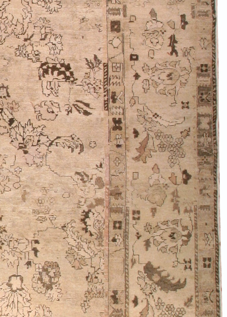20th Century Antique Indian Amritsar Rug For Sale