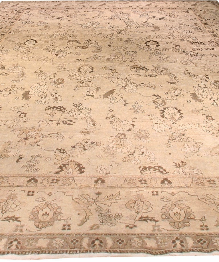 Wool Antique Indian Amritsar Rug For Sale
