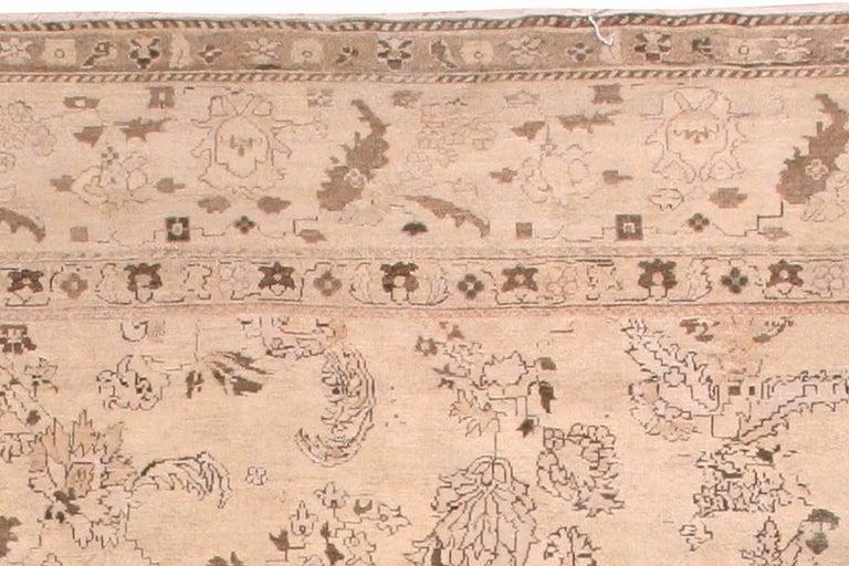Antique Indian Amritsar Rug For Sale 1