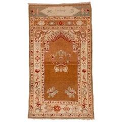 Antique Indian Amritzar Prayer Rug