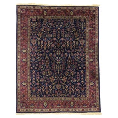 Antique Indian Area Rug with Modern Victorian Style