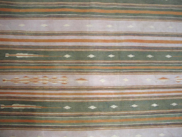 Antique Indian Dhurrie Rugs In Good Condition For Sale In New York, NY