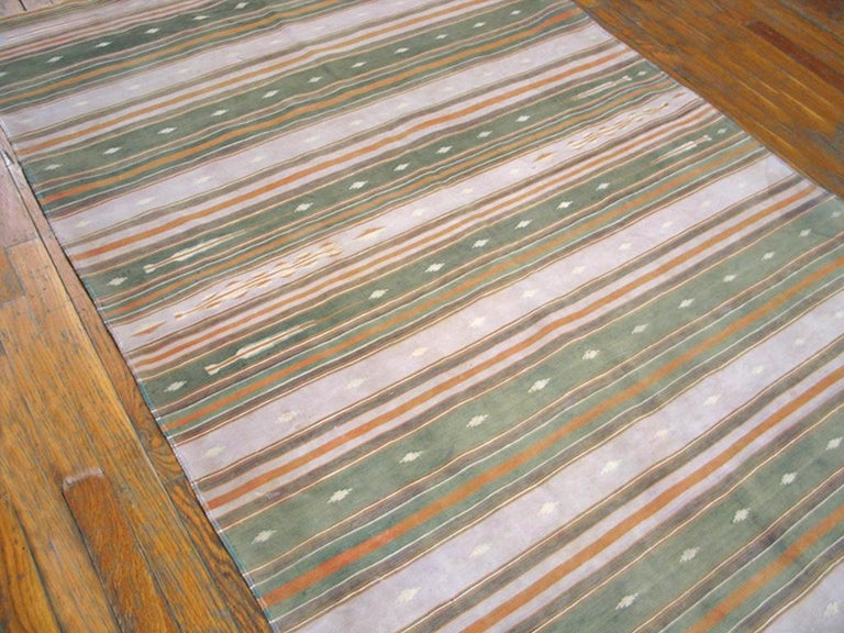 Mid-20th Century Antique Indian Dhurrie Rugs For Sale